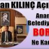 Başkan KILINÇ Anamur Belediyesinin Borcunu Açıkladı