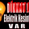 Cumartesi ve Pazar Günü Anamur'da Elektrik Kesintisi