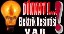 Anamur'da Pazartesi Günü Elektrik Kesintisi