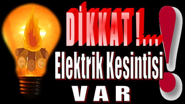 Anamur'da 5 Mahallede Elektrik Kesintisi