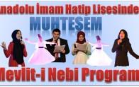 Anamur İHL'den Muhteşem Mevlid-i Nebi Programı