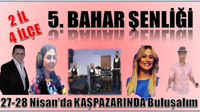 5. BAHAR ŞENLİĞİNE DAVETLİSİNİZ