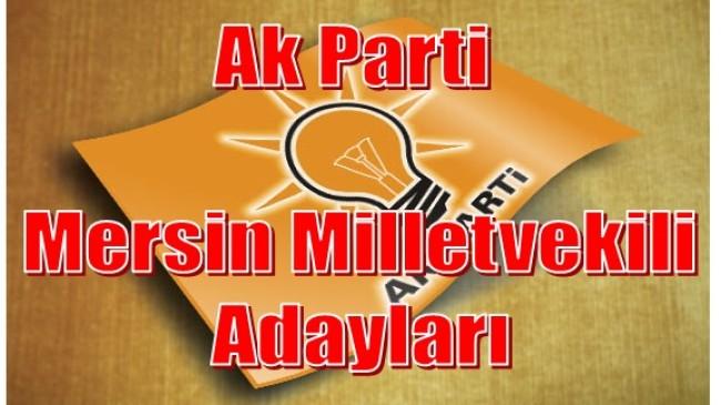 Ak Parti Mersin Milletvekili Adayları