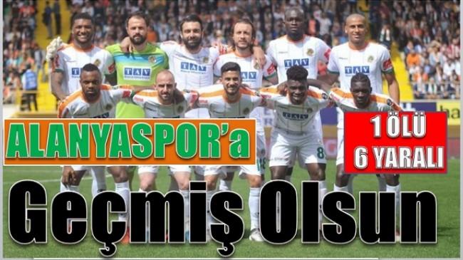 ALANYASPOR'lu Futbolcular Kaza Yaptı