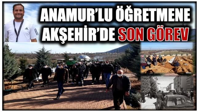 Hemşerimiz Ali KAHVECİ'ye Akşehir'de Son Görev