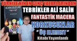 """TÜRKİYE'nin en Genç Yazarlarına Bir İsimde Anamur'dan Katıldı """"Ali Salih ASLAN"""""""