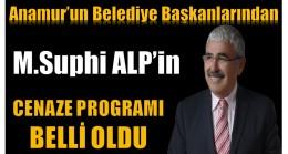 Başkan ALP'in Cenaze Programı Belli Oldu