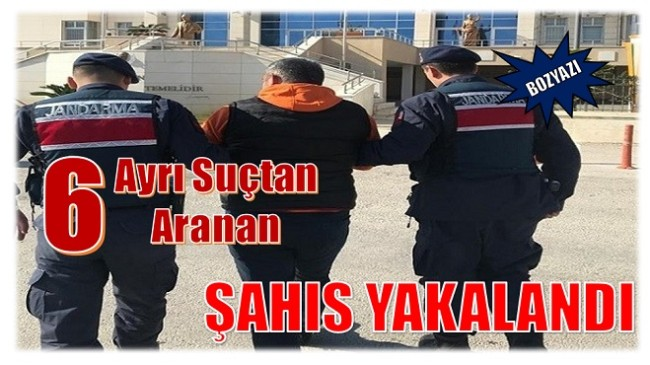 6 Ayrı Suçtan Aranan Şahıs Yakalandı