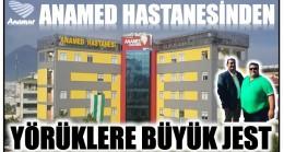 ANAMED'DEN YÖRÜKLER GRUBU REİSİ BEREC'E BÜYÜK JEST