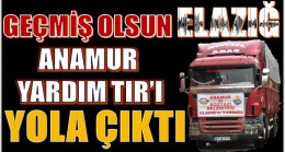ANAMUR'DAN DEPREM BÖLGESİNE YARDIM TIR'I