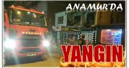 Anamur'da Yangın