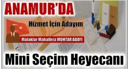 Anamur'da Mini Seçim Heyecanı