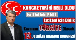 MHP ANAMUR İLÇE KONGRE TARİHİ BELLİ OLDU