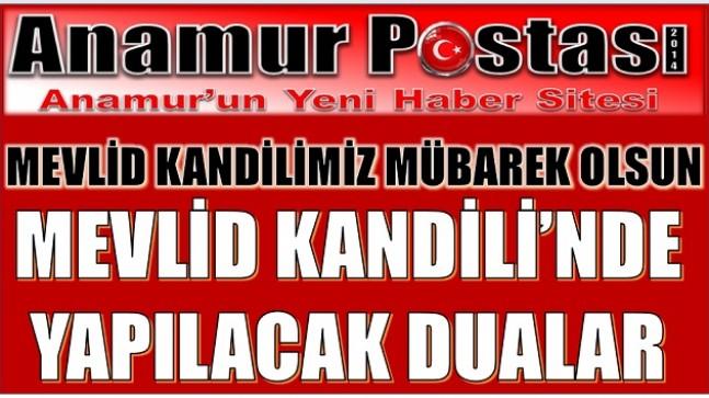 MEVLİD KANDİLİ'NİN ÖNEMİ VE NELER YAPILMALI