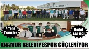 """ANAMUR BELEDİYESPOR'DA HEDEF """" BAL LİGİ """""""