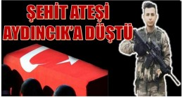 ŞEHİT ATEŞİ AYDINCIK'A DÜŞTÜ