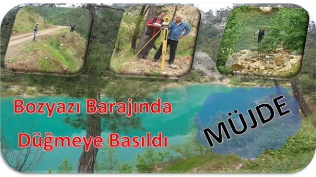 Bozyazı'ya Baraj Yapılacak