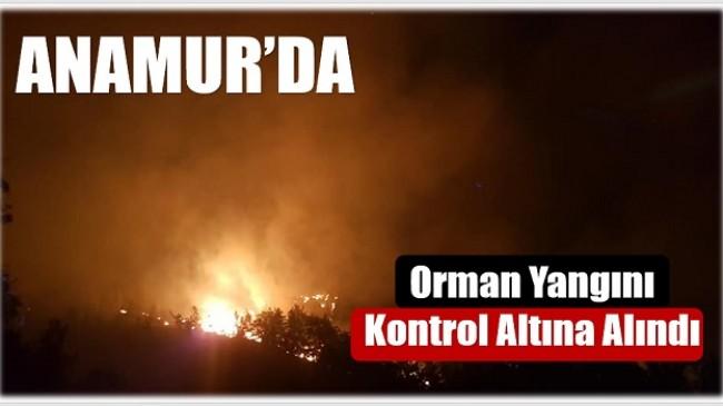 Anamur'daki Yangın Kontrol Atına Alındı