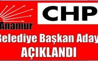 CHP'nin Anamur Belediye Başkan Adayı Açıklandı