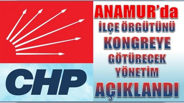 CHP Anamur'da Kongre Yönetimi Belli Oldu
