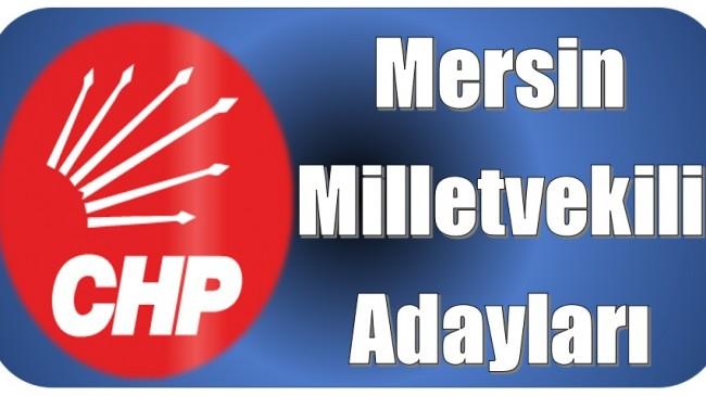 CHP Mersin Milletvekili Adayları