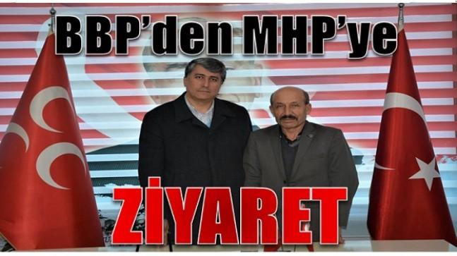 Anamur BBP'den MHP'ye Ziyaret