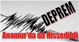 Deprem Anamur'da da Hissedildi