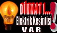 Anamur'da Cumartesi Günü Elektrik Kesintisi