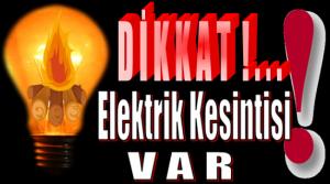 ANAMUR'DA CUMARTESİ GÜNÜ ALTI MAHALLEDE 9 SAAT ELEKTRİK KESİNTİSİ