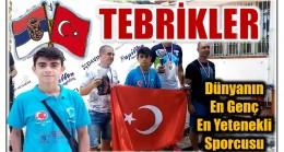 """TEBRİKLER FERHAT """" SENİNLE GURUR DUYUYORUZ """""""