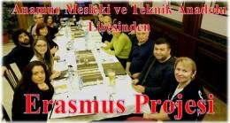 Anamur Mesleki ve Teknik Anadolu Lisesi'nden Erasmus Projesi