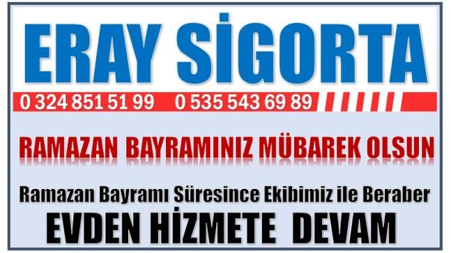 ERAY SİGORTA'DAN RAMAZAN BAYRAMI MESAJI