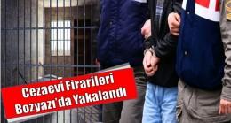 Cezaevi Firarileri Yakalandı