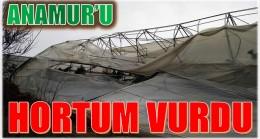 HORTUM,ANAMUR'DA ZARAR VERDİ
