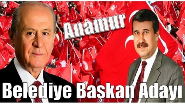 MHP Anamur Belediye Başkan Adayı Belli Oldu