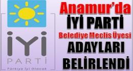 Anamur'da İyi Parti Meclis Üyesi Adayları Belirlendi
