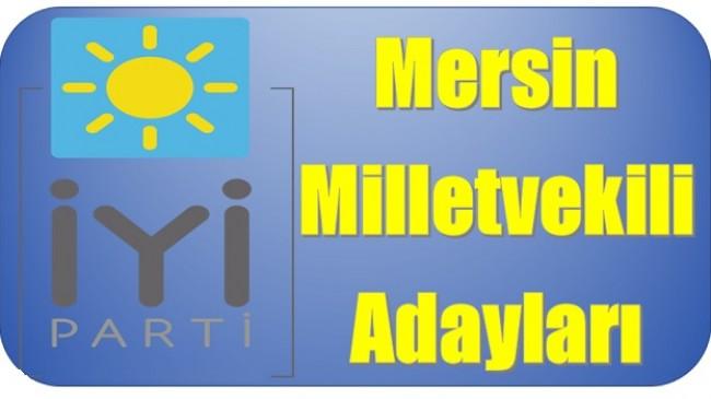 İyi Parti Mersin Milletvekili Adayları