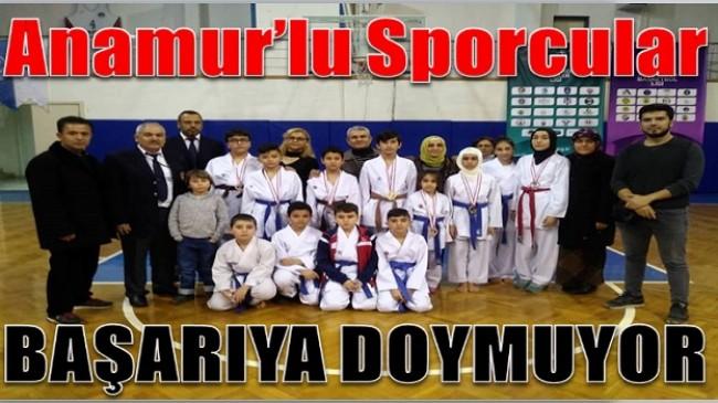 Anamur'lu Sporcular Başarıya Doymuyor