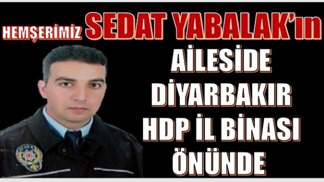 Hemşerimiz Sedat YABALAK'ın teyzesi de Diyardakır'da