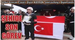 GÜLNAR'DA ŞEHİDE SON GÖREV