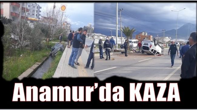 Anamur'da KAZA