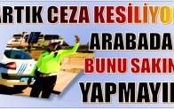 """"""" DUMANSIZ ARAÇ """" DENETİMLERİ ANAMUR'DA BAŞLADI"""