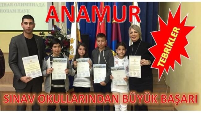 Anamur'lu Öğrencilerden Büyük Başarı