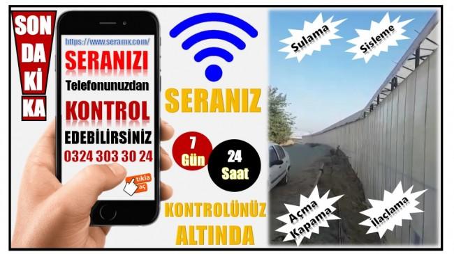 DATASURF Tarafından Bozyazı'da Üretilen SERAM X  Markalı AKILLI SERA SİSTEMLERİ ile Tanıştınız mı ?