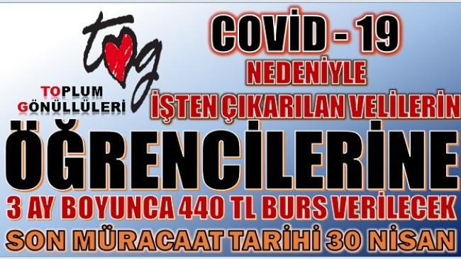 TOG & İNG TÜRKİYE'den ÖĞRENCİLERE 440 LİRA BURS