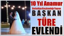 Eski Başkan Mehmet TÜRE Evlendi