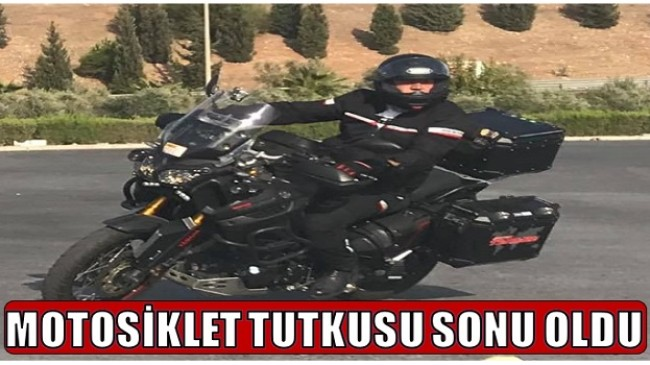 Müdürün Motosiklet Tutkusu Sonu Oldu
