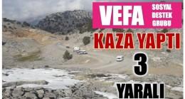 VEFA SOSYAL DESTEK GRUBU KAZA YAPTI ; 3 YARALI