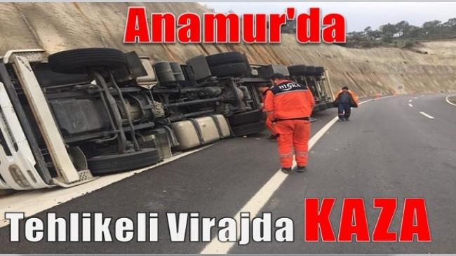 Tehlikeli Virajda Kaza Yaptı; Verilmiş Sadakası Varmış