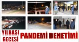 Anamur'da Yılbaşı Gecesi PANDEMİ DENETİMİ
